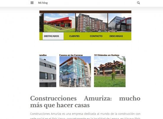 Construcciones Amuriza en Bilbao