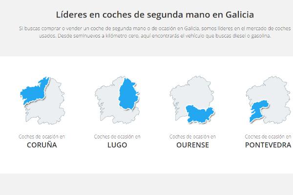 SEO para coches de segunda mano en Galicia